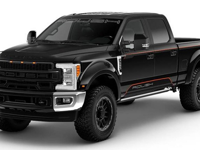 Roush Gives The Ford F-250 A Rugged New Appearance