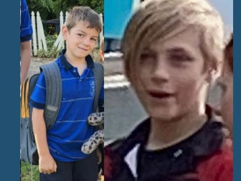 Boys aged 7, 11 missing at Bridgewater