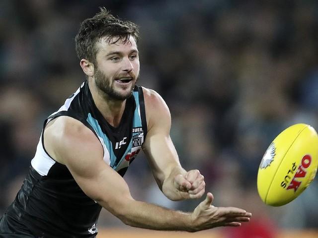 Port Adelaide small forward Sam Gray still garnering rival interest as possible delisting looms