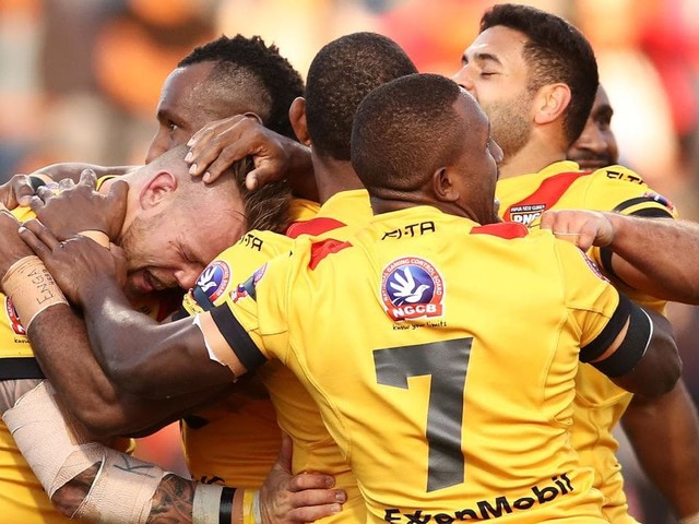 Papua New Guinea have dominated Fiji in a stunning upset