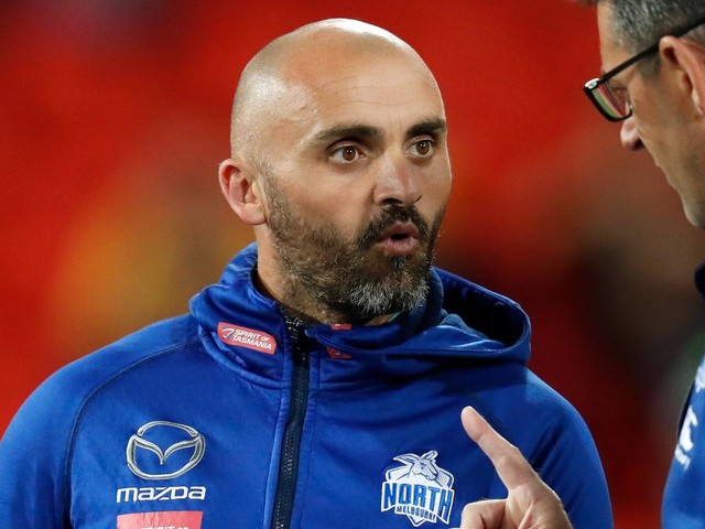 North Melbourne and coach Rhyce Shaw part ways, effective immediately