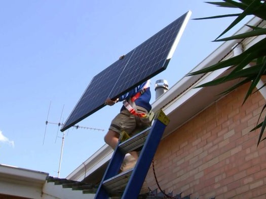 World first as all of South Australia's power comes from solar panels