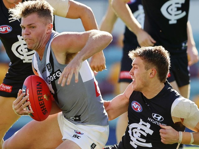 LIVE AFL: Blues hoping there'll be no Gray heroics this time against Power