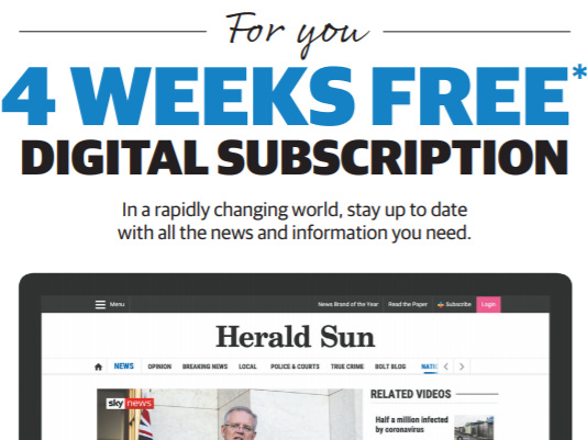 News Corp Australia's titles offer free digital access to new subscribers