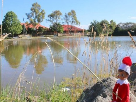 Elf on the Shelf makes himself at home in Queanbeyan thanks to special helper Nichole Overall