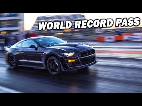 Bone-Stock 2020 Ford Mustang Shelby GT500 Does The Quarter-Mile In…?