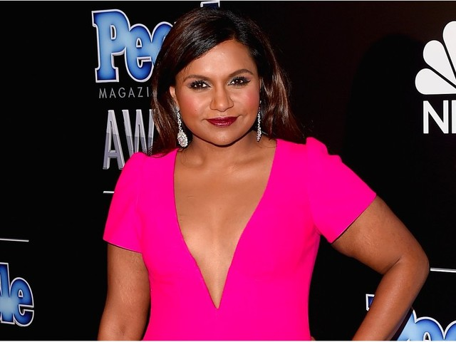 Mindy Kaling Might Have Just Gotten the Best, Most Creative Christmas Gift Ever