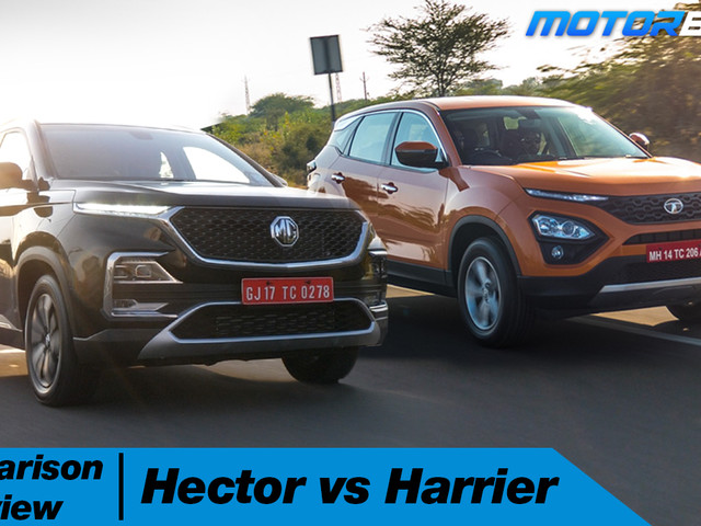 MG Hector vs Tata Harrier – Hindi [Video]