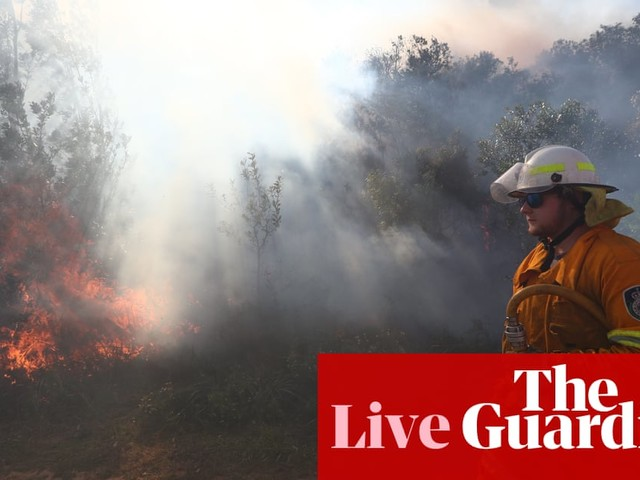 Queensland and NSW bushfires: police lay charges over 'malicious' behaviour – live updates