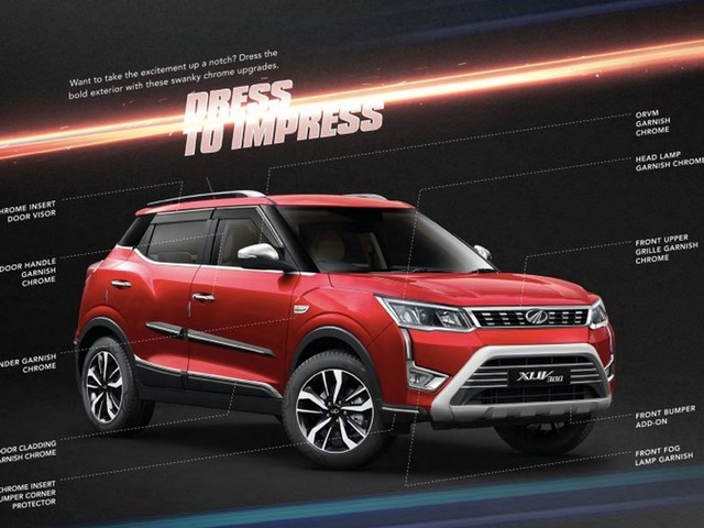 Mahindra XUV300 Accessories Revealed Officially