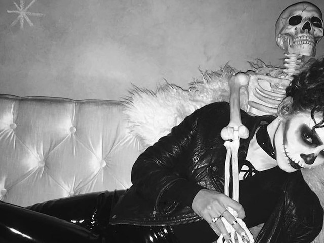 Vanessa Hudgens's Halloween Costumes Are the Perfect Mix of Spooky and Seductive