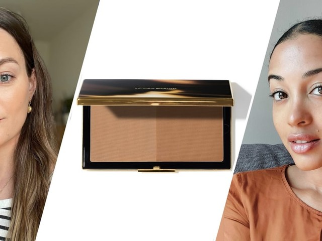 4 Editors Tried the New Victoria Beckham Beauty Matte Bronzing Brick (Spoiler: It's Epic)