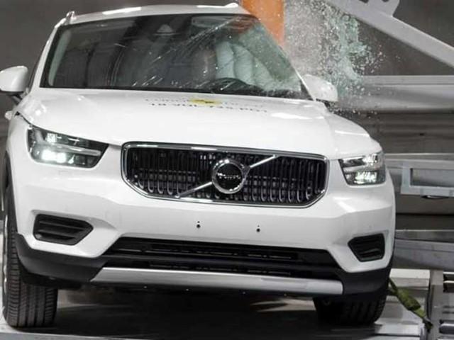 Volvo XC40 Scores 5 Stars In Euro NCAP [Video]