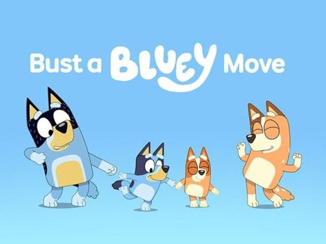 Wackadoo! Now you can dance with Bluey in your own living room!
