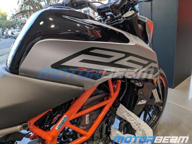 KTM Duke 250 Matte Grey Spotted At Dealership