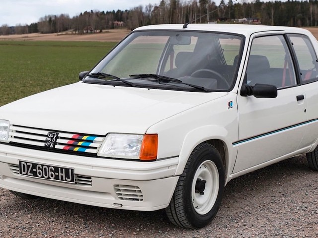 The Peugeot 205 Rallye Was A Pocket-Sized Homologation Special
