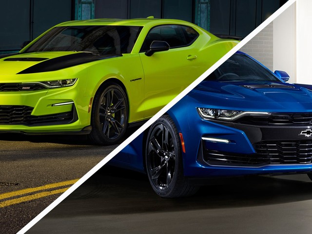 Chevrolet Reportedly Rushing To Change The Camaro's Front Fascia