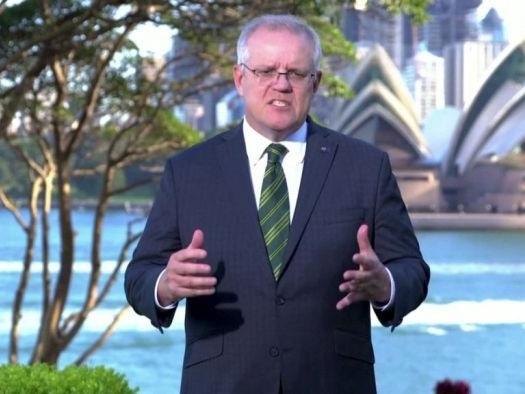 Scott Morrison calls for countries not to seek profits from coronavirus vaccines