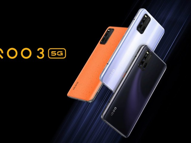 IQOO 3 4G and 5G variants launched in India starting at Rs 36,999