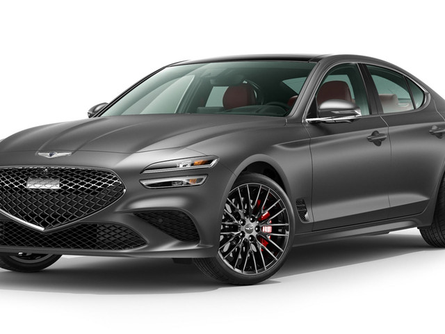 2022 Genesis G70 Coming To America This Spring With A Matte Launch Edition