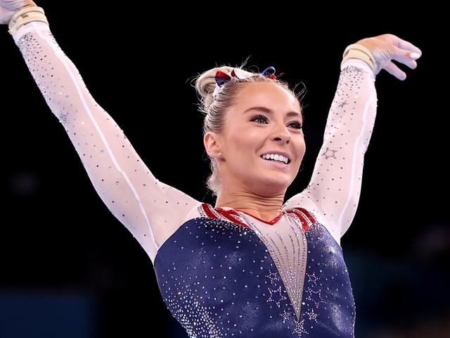 MyKayla Skinner Fills in For Simone Biles, Claims Silver in the Olympic Gymnastics Vault Final