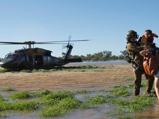 More climate refugees to come, Defence briefing warns