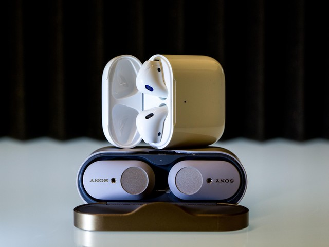AirPods 2 vs Sony WF-1000XM3: The best wireless earbuds are... - CNET