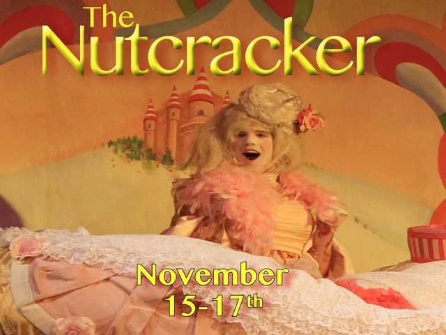 The Nutcracker presented by Byron Ballet, 15-17 November