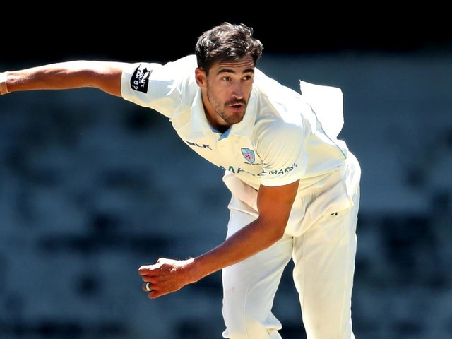 Mitchell Starc returns for NSW as battle for Test spots heats up in blockbuster Shield round