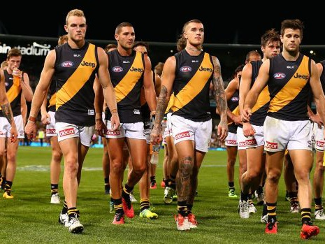 AFL season 2016: Tigers coach Damien Hardwick remains upbeat despite big loss