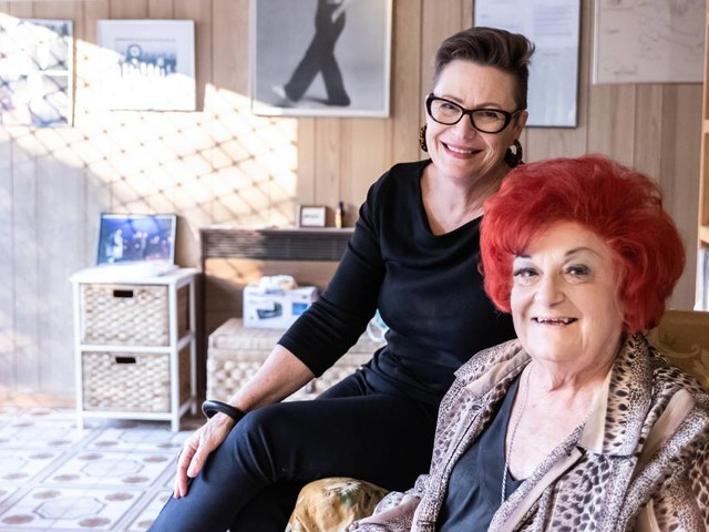 "The ""original redhead"" Coralie Wood captured for the Archibald Prize"