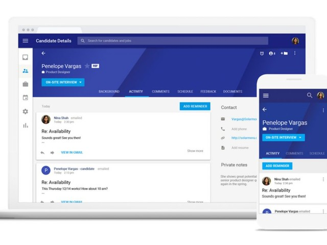 Google launches G Suite recruitment tool