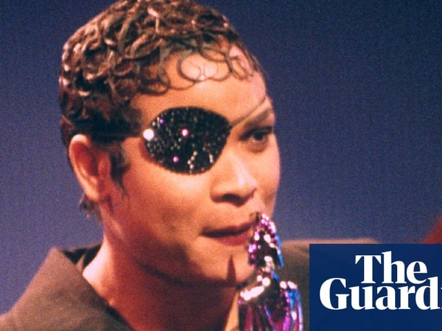 Gabrielle: 'The eye patch alone was a talking point, so I made it bling'