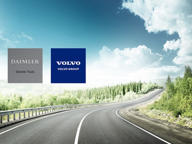 Daimler And Volvo Finalize Fuel-Cell Joint Venture For Trucks