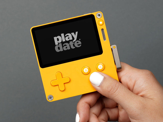 The Playdate gaming handheld is a Game Boy-Model T mashup by Firewatch's publisher