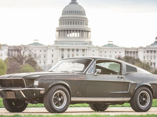 Original Ford Bullitt Mustang On Display In The Heart Of Washington, D.C.