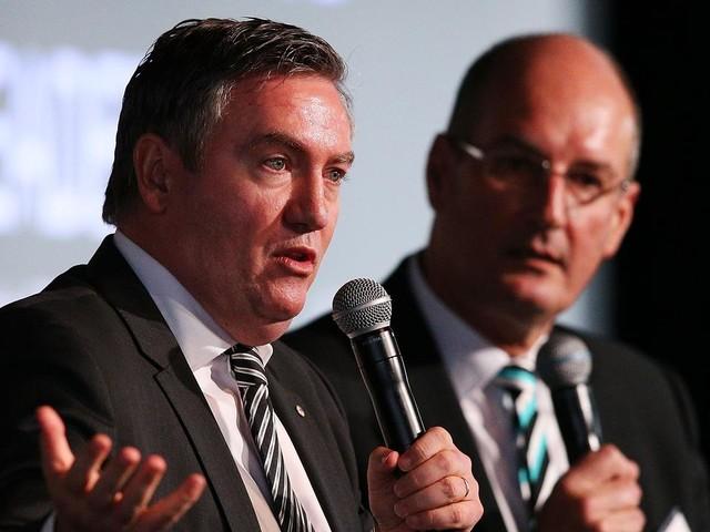 'Not based in fact': AFL's hottest feud ignites as David Koch goes again at Eddie McGuire