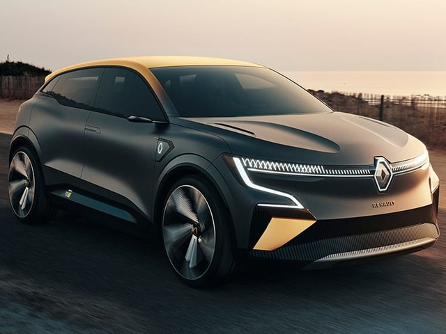 2022 Renault Megane eVision detailed: Electric hatchback concept previews France's new Volkswagen ID.3 rival