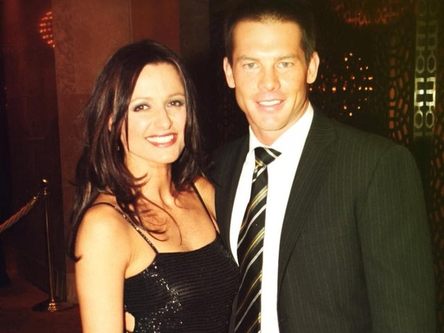 Ben Cousins' ex-partner says she feels like the one on trial