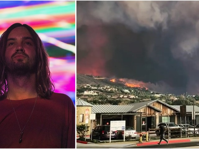 """Tame Impala's Kevin Parker Recounts """"Wave Of Panic"""" As He Escaped California Wildfires"""