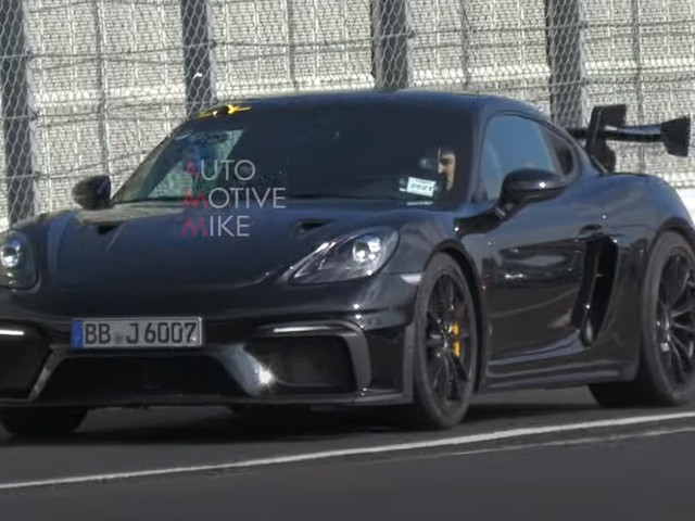 Enjoy The Sonorous Sound Of The 2022 Porsche Cayman GT4 RS