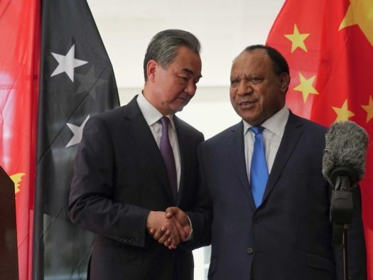Chinese officials barge into PNG Foreign Minister's office