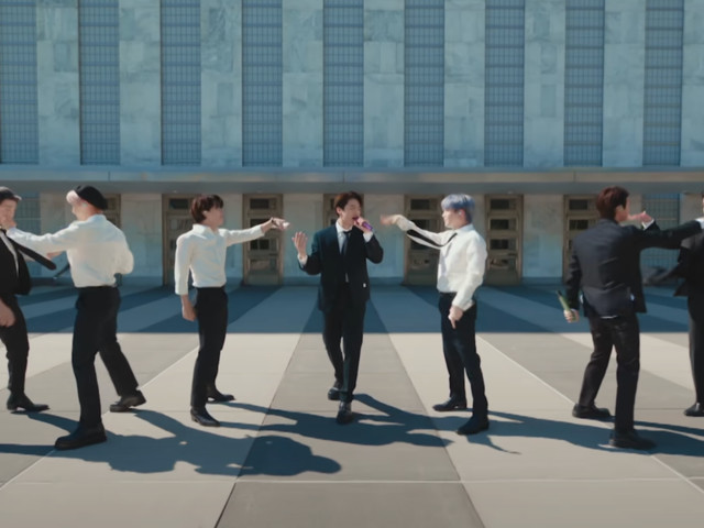 BTS says 'of course' they're vaccinated in appearance at United Nations - CNET