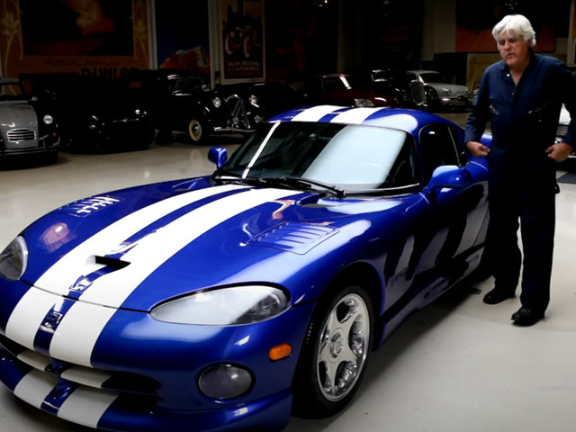 Jay Leno Introduces Us To His 1996 Dodge Viper GTS
