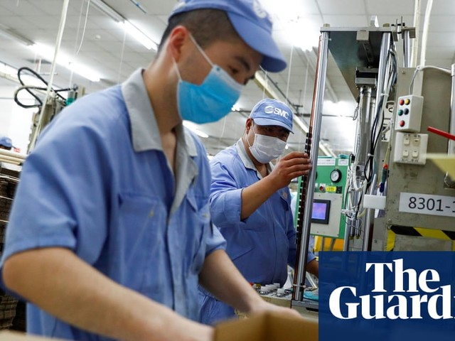 China's economy was first in to Covid crisis – and is first out