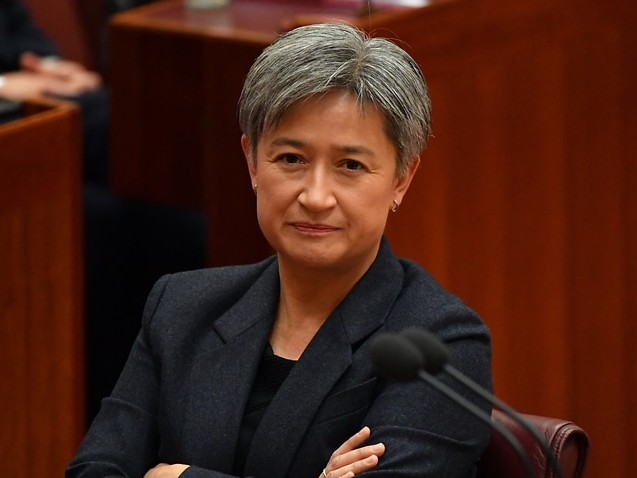 Penny Wong warns Australia's new submarine deal must not come at expense of aid efforts