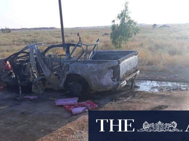 Iranian commander killed in air strike at Iraq-Syria border, say Iraqi officials
