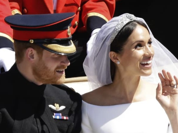 Meghan Markle reveals her 'something blue' from the royal wedding
