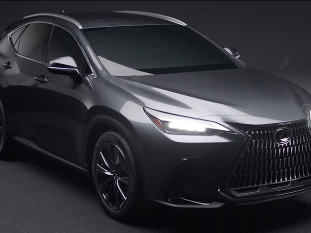 2021 Lexus NX accidentally leaked! New luxury version of Toyota RAV4 Hybrid gets an early mark with redesigned exterior and interior