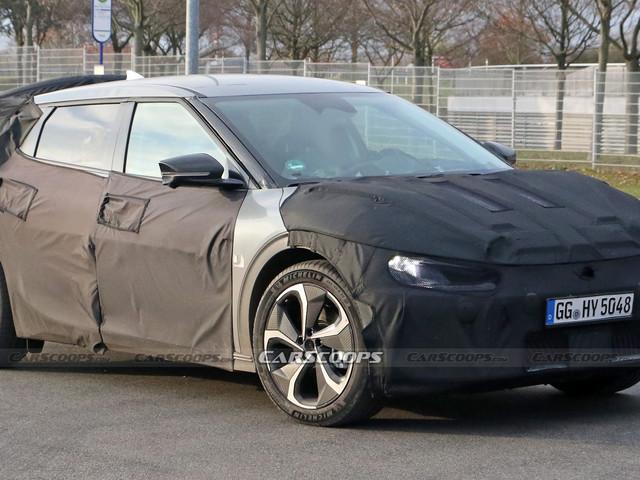 All-Electric 2022 Kia CV Spied Testing, Debut To Follow Ioniq 5